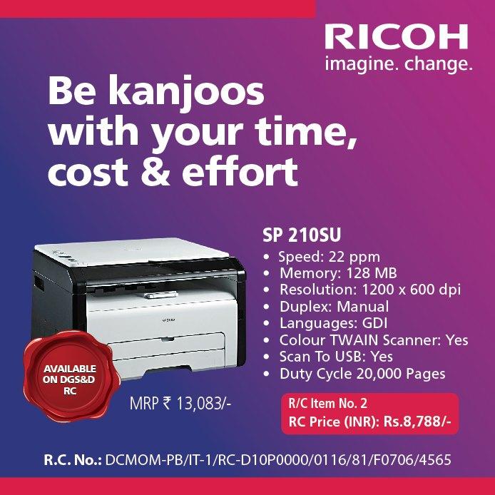 Ricoh Printer Offer - Laptop Repair Mumbai - Priority