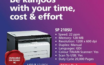 Ricoh Printer Offer
