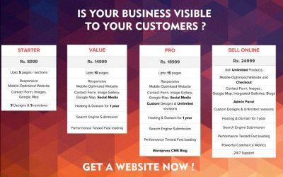Get a website Now Offer