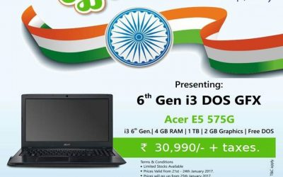 Republic Day Offer – Acer