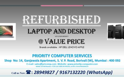 Call Us Now for REFURBISHED LAPTOP & DESKTOP